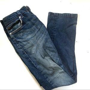 Armani Exchange Distressed Blue Jeans Sz 29 Short